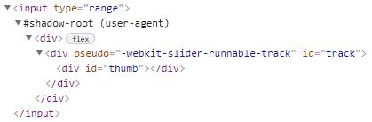 """DOM de input type=""""range"""" en Webkit"""